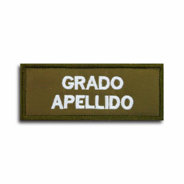 Grado & Apellido Carabineros de Chile