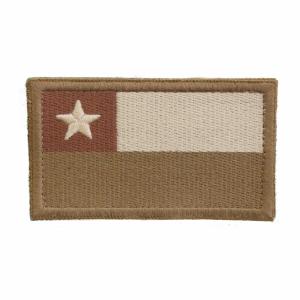 Bandera de Chile Ocre