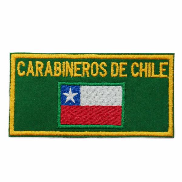 Parche Bandera Carabineros de Chile