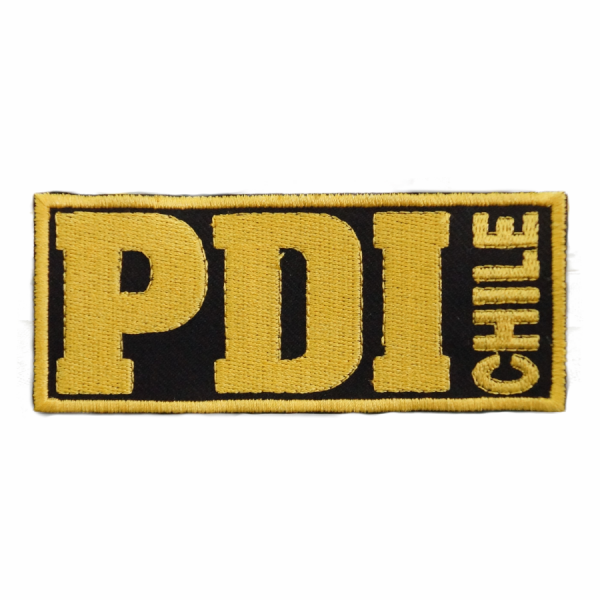 Placa PDI Borde Amarillo
