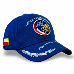 Gorro Modelo F-16 Fighting Falcon Azul