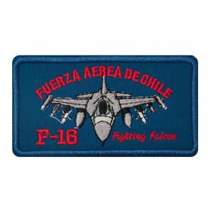 Piocha F-16 Fighting Falcon Azul