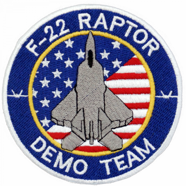 Parche F-22 Raptor Demo Team