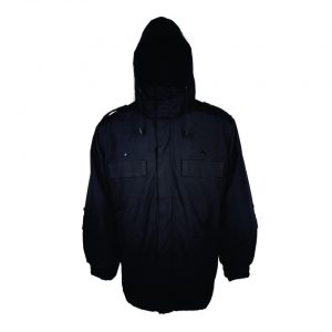 Parka Technopoints con Polar Desmontable Negra